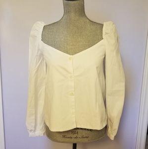 Zara Puff Sleeve Top